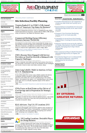 Sample Vertical Industry Topic Page/Half-Page Ad
