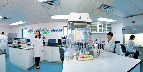 Ecological Laboratories develops and sells 100 percent, all-natural wastewater solutions to the municipal, agricultural, and industrial sectors. Ecological Labs has undergone six expansions of its Cape Coral research, manufacturing, and distribution facility since 1998. In January, the labs hosted more than 40 major customers from 17 countries to perform product updates and training over a three-day period.