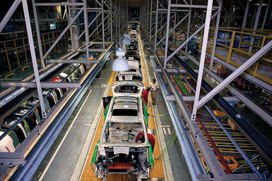Auto aero firms redrawing the map area development for Hyundai motor manufacturing alabama