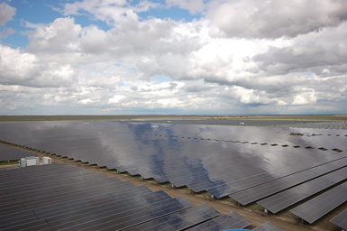 Atwell Island solar farm, Tulare County