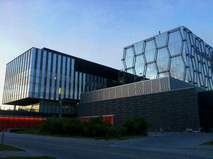 The Mike & Ophelia Lazaridis Quantum-Nano Centre at the University of Waterloo, Ontario